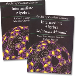 Art of Problem Solving Intermediate Algebra - Text & Solutions