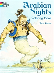 Arabian Nights - Coloring Book