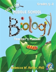 Focus on Middle School Biology - Teacher's Manual