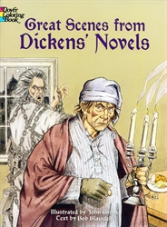 Great Scenes from Dickens' Novels - Coloring Book
