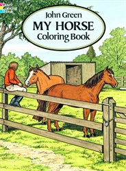 My Horse - Coloring Book