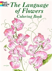 Language of Flowers - Coloring Book