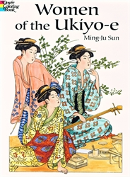 Women in Japanese Art - Coloring Book