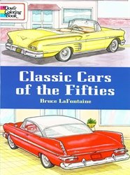 Classic Cars of the Fifties - Coloring Book