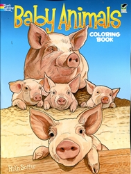 Baby Animals - Coloring Book