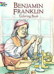 Benjamin Franklin - Coloring Book - Exodus Books