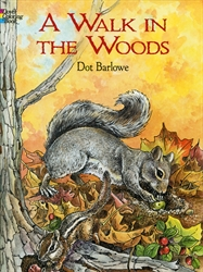 Walk in the Woods - Coloring Book