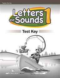 Letters and Sounds 1 - Test Key