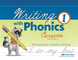 Writing with Phonics 1 - Cursive