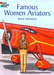 Famous Women Aviators - Coloring Book