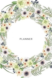 2016-2017 Student Planner - Floral Style