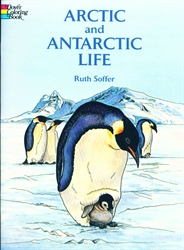 Arctic and Antarctic Life - Coloring Book