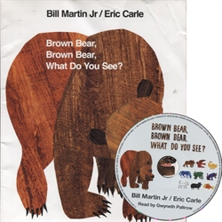 Brown Bear, Brown Bear, What Do You See? - Book &CD