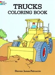 Trucks - Coloring Book