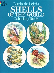 Shells of the World - Coloring Book