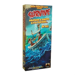 Survive: Escape from Atlantis - Dolphins & Squids & 5-6 Players... Oh My! Expansion Pack