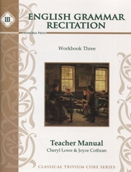 English Grammar Recitation III - Teacher Manual