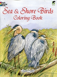 Sea and Shore Birds - Coloring Book