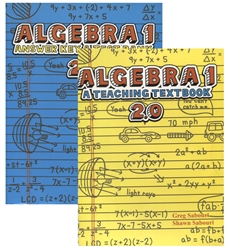 Teaching Textbooks Algebra 1 - Textbook & Answer Key