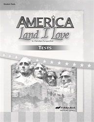 America: Land I Love - Test Book