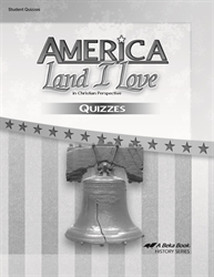 America: Land I Love - Quiz Book