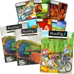 BJU Reading 1 - Home School Kit (old)