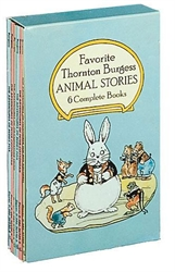 Favorite Thornton Burgess Animal Stories - Boxed Set