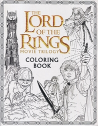 Lord of the Rings Movie Trilogy Coloring Book