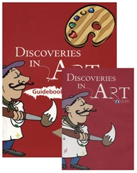 Discoveries in Art Guidebook with DVD