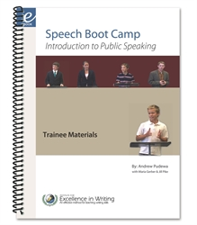 Speech Boot Camp - Teacher's Notes