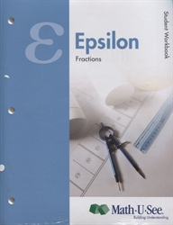 Math-U-See Epsilon Student Kit
