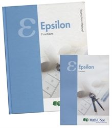 Math-U-See Epsilon Teacher Pack