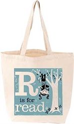 R is for Read - Tote