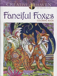 Creative Haven Fanciful Foxes - Coloring Book