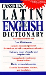 Cassell's Latin & English Dictionary
