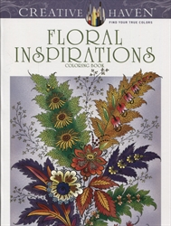 Creative Haven Floral Inspirations Coloring Book