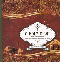 O Holy Night - Adult Coloring Book