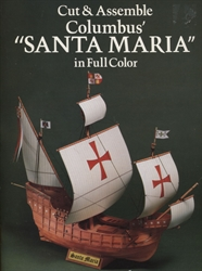 "Cut & Assemble Columbus' ""Santa Maria"""