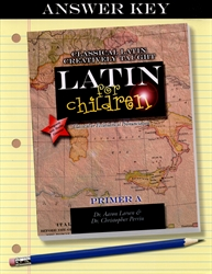 Latin for Children Primer A - Answer Key (old)
