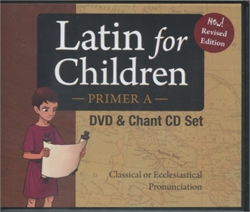 Latin for Children Primer A - DVD Set - Exodus Books