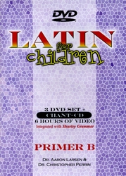 Latin for Children Primer B - DVD Set