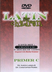 Latin for Children Primer C - DVD Set