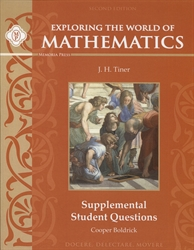 Exploring the World of Mathematics - Supplemental Questions