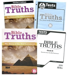 BJU Bible Truths Level B - Homeschool Kit