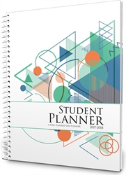 2017-2018 Student Planner - Tech Style