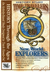 Time Travelers: New World Explorers - CD-ROM
