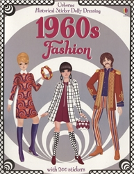 Historical Sticker Dolly Dressing: 1960s Fashion