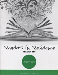 Readers in Residence Volume 1 - Answer Key