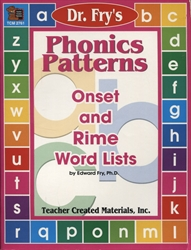 Dr. Fry's Phonics Patterns