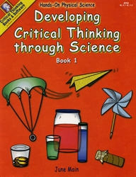 Developing Critical Thinking through Science - Book 1